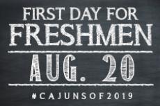 Attention Freshmen!